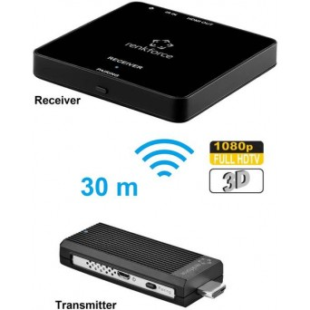 Transmiter HDMI, TV Renkforce RF-4499487, 30 m