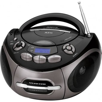 Radioodtwarzacz CD AEG FM, MP3